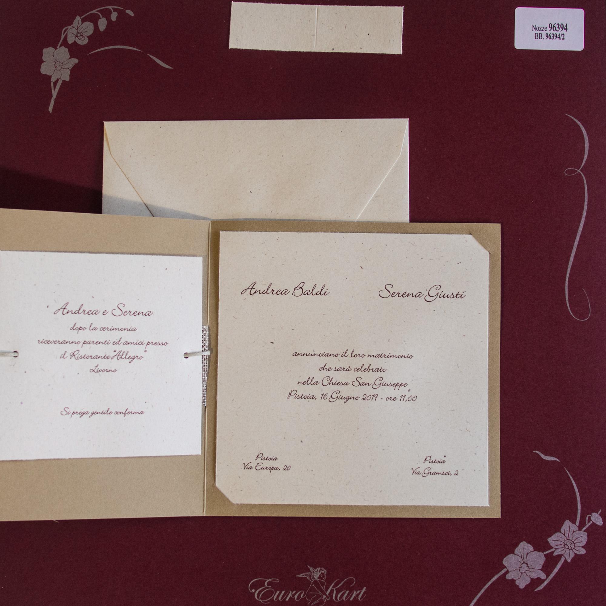 partecipazioni di nozze 96394