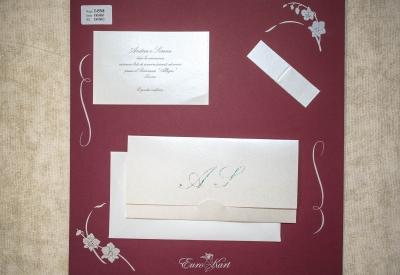 partecipazione di matrimonio E45568