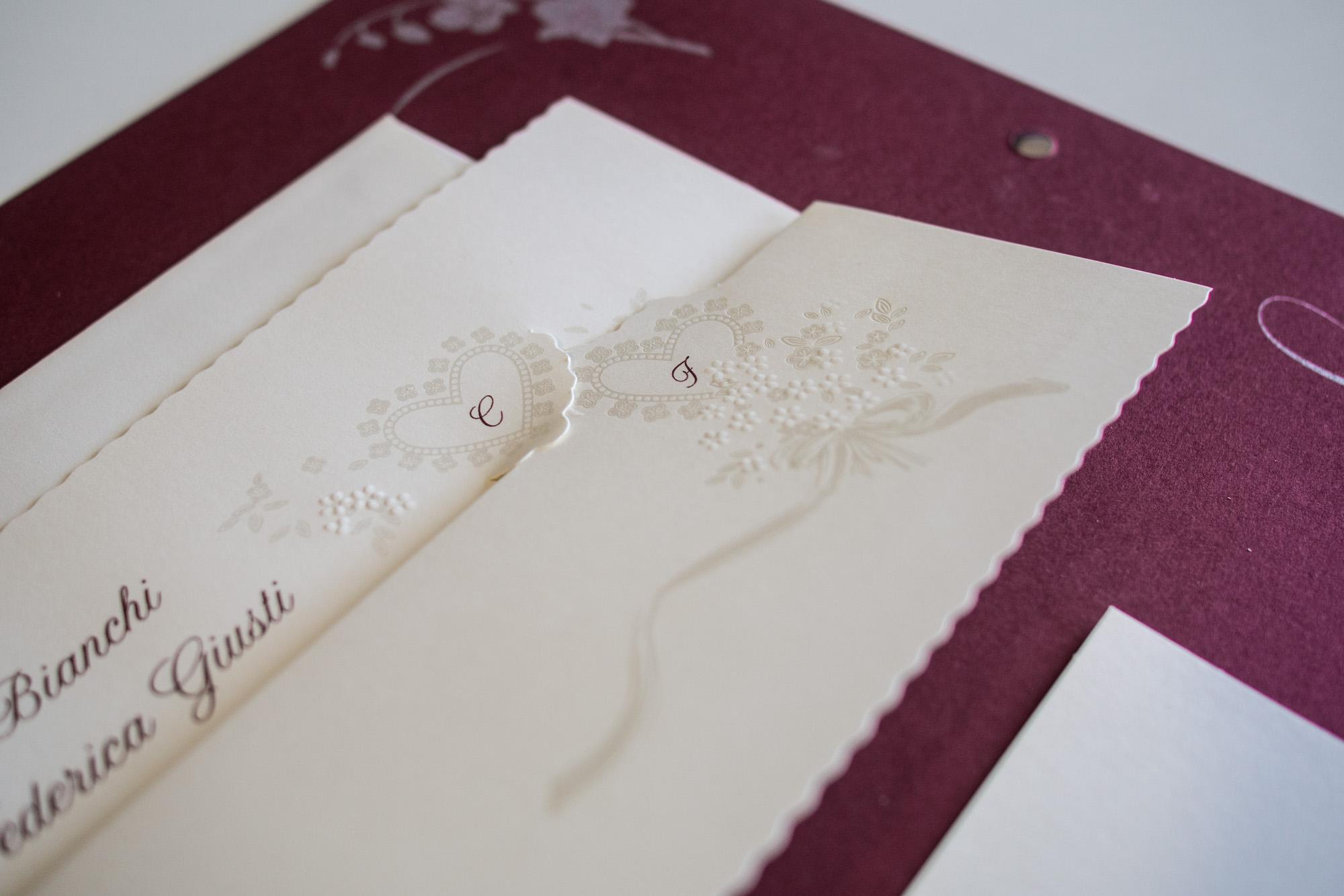 partecipazioni di nozze E45579