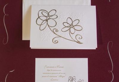 partecipazioni di nozze E45581