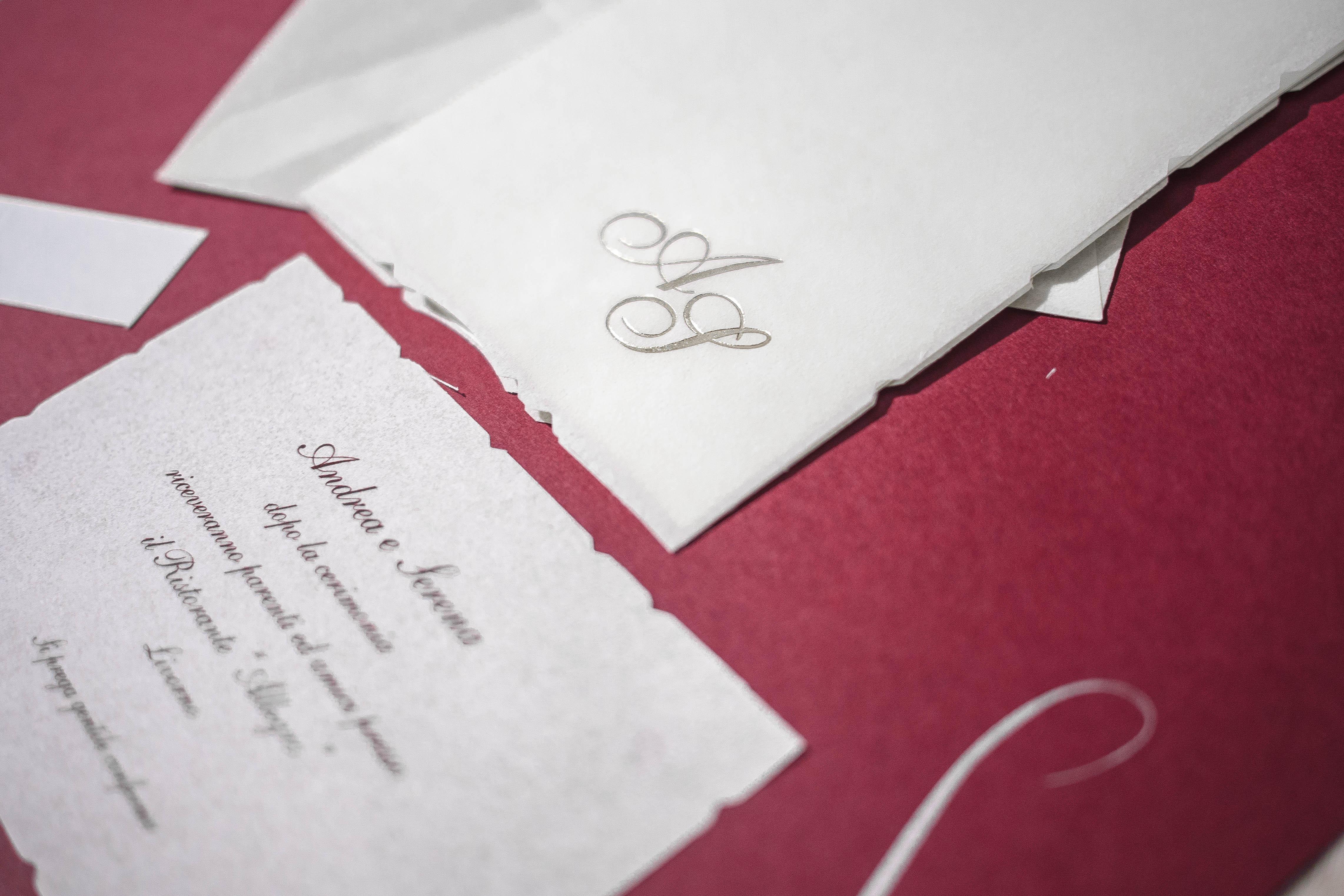 partecipazione di matrimonio E45587