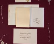 partecipazioni di nozze E45589