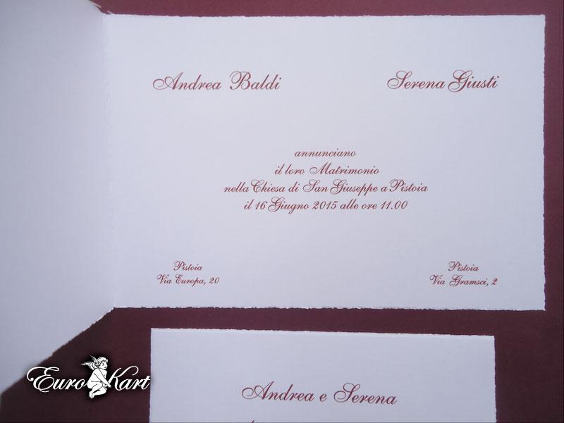 partecipazioni di nozze 0011/Album