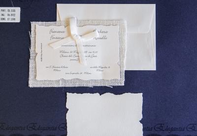 partecipazione di matrimonio 05-1555