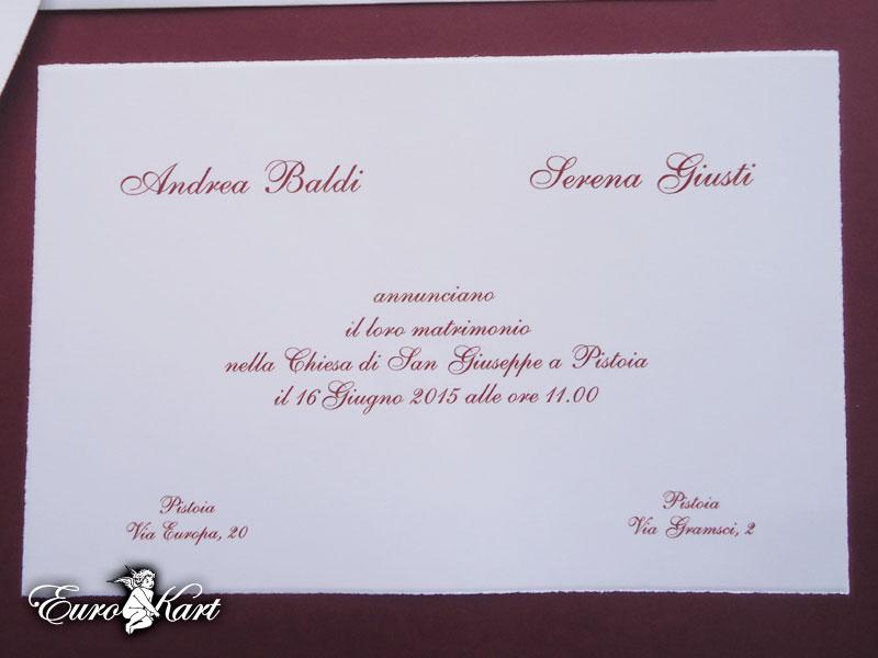 Partecipazioni di nozze 0011 semplice invito nozze 0011 for Partecipazioni matrimonio modelli