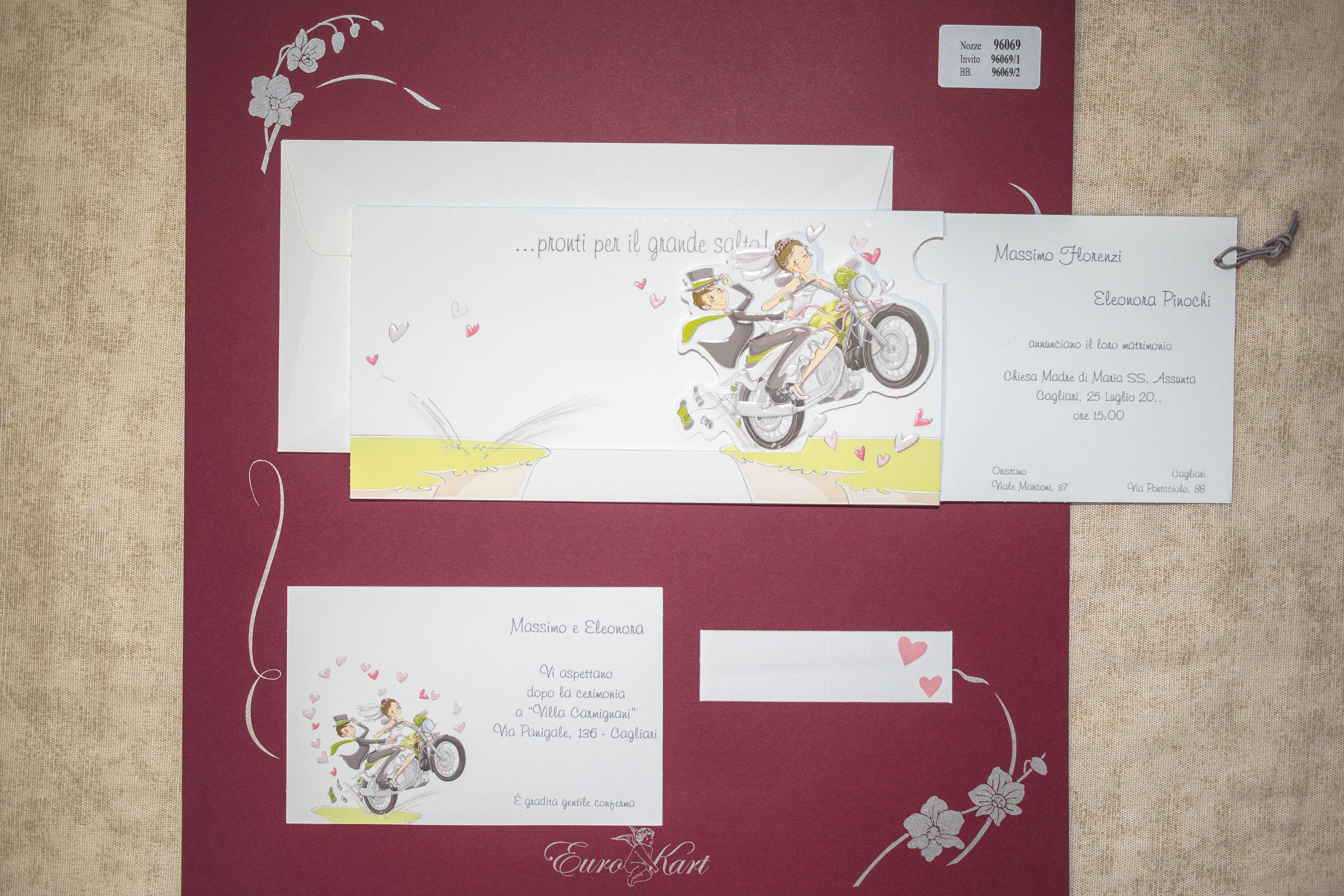 partecipazione di matrimonio 96069