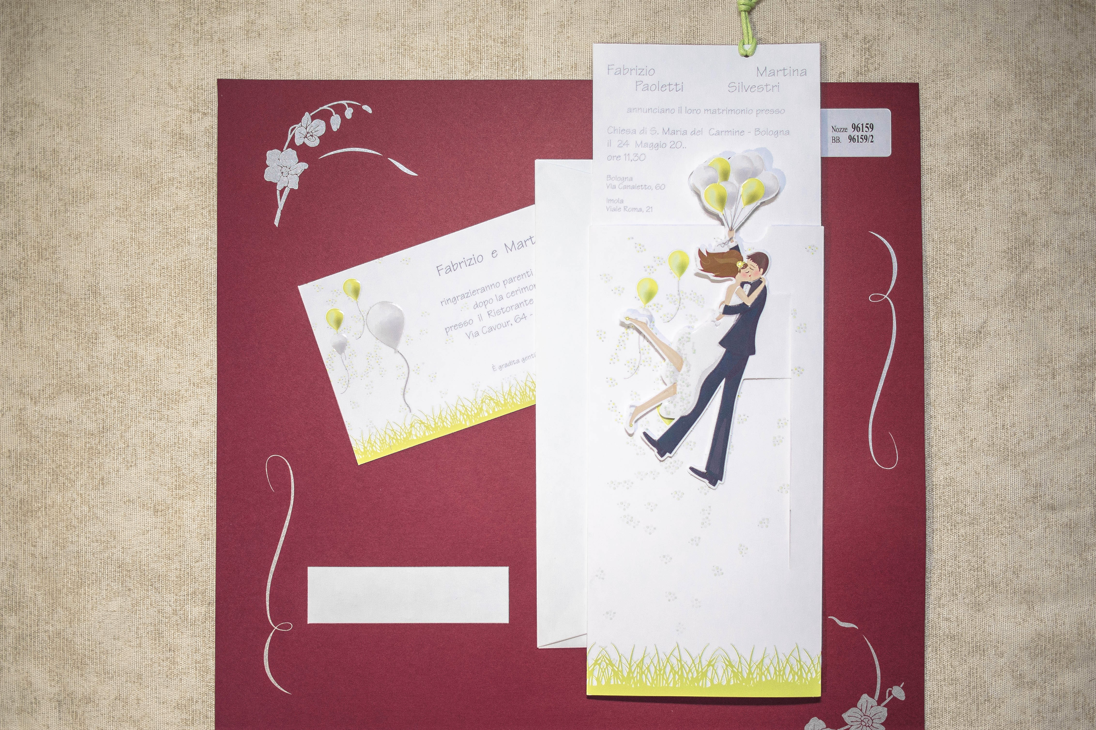 partecipazione di matrimonio 96159