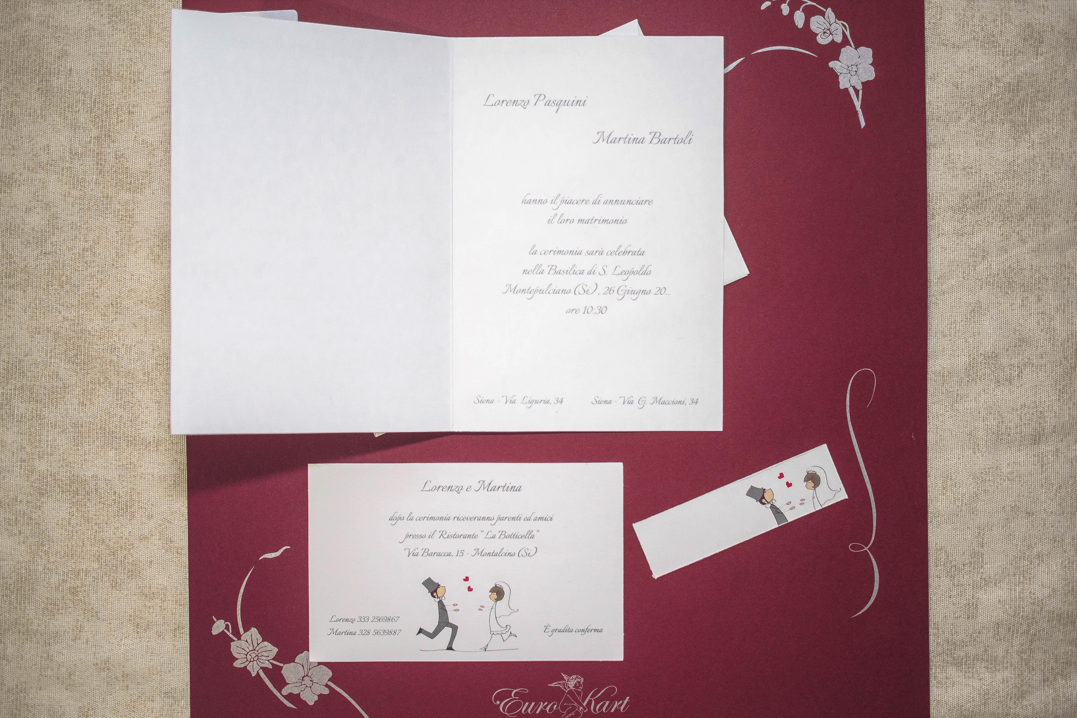 partecipazione di matrimonio 96310