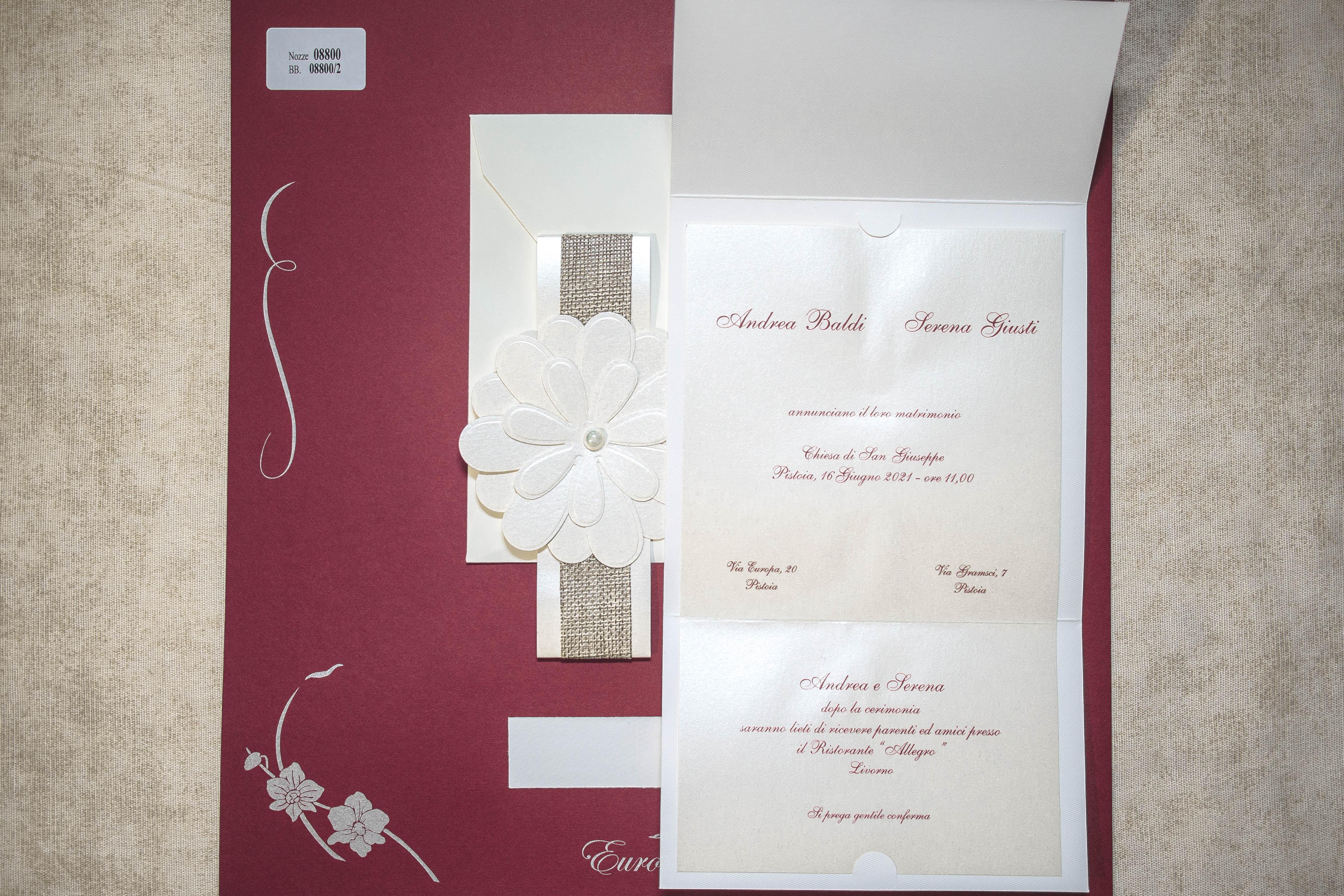 partecipazione di matrimonio 08800