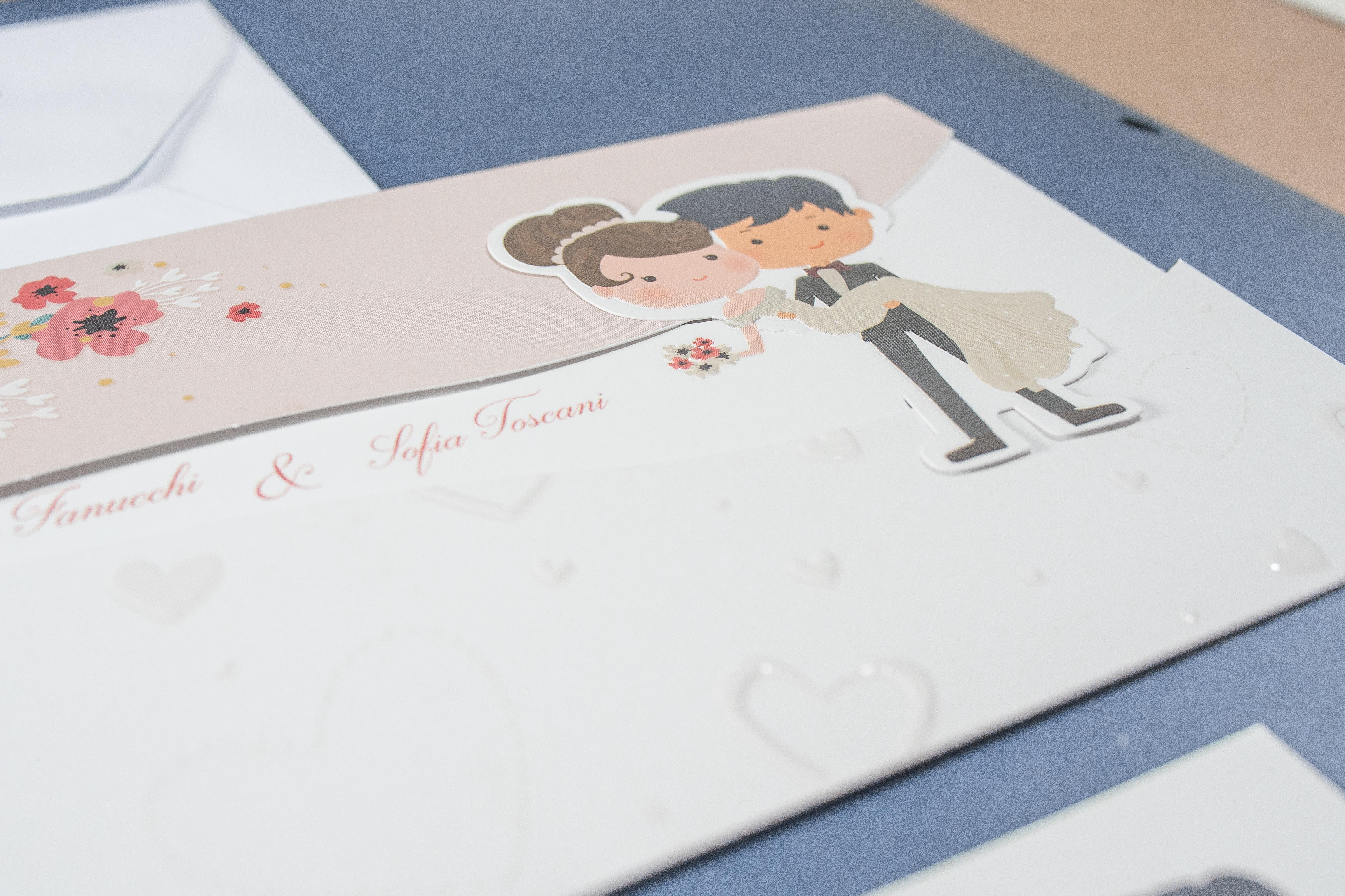 partecipazione di matrimonio 0633