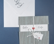 Partecipazione di matrimonio 0625