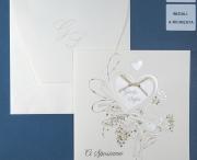 Partecipazione di matrimonio 0615