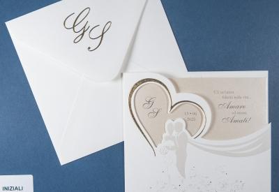 Partecipazione di matrimonio 0603