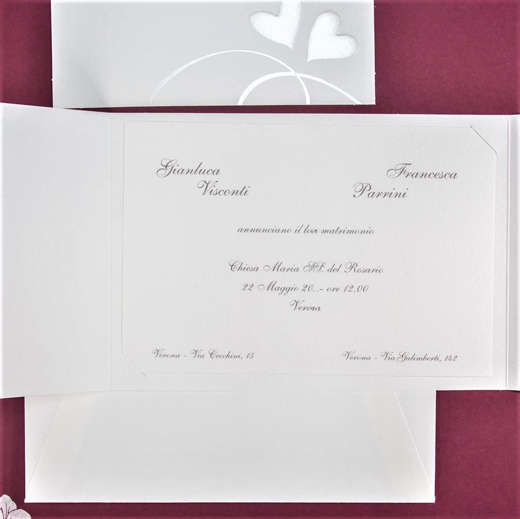 partecipazione di matrimonio 95579