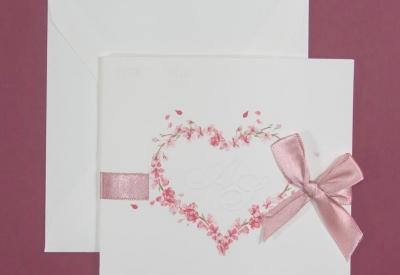 partecipazione di matrimonio E45630