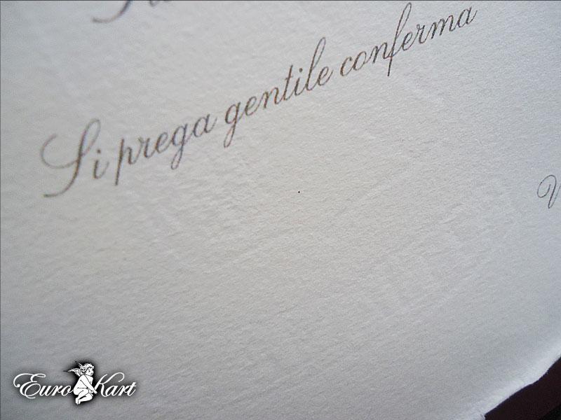 partecipazione di nozze  Amalfi A2