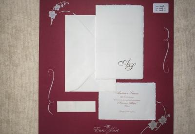 partecipazione di nozze Amalfi A1