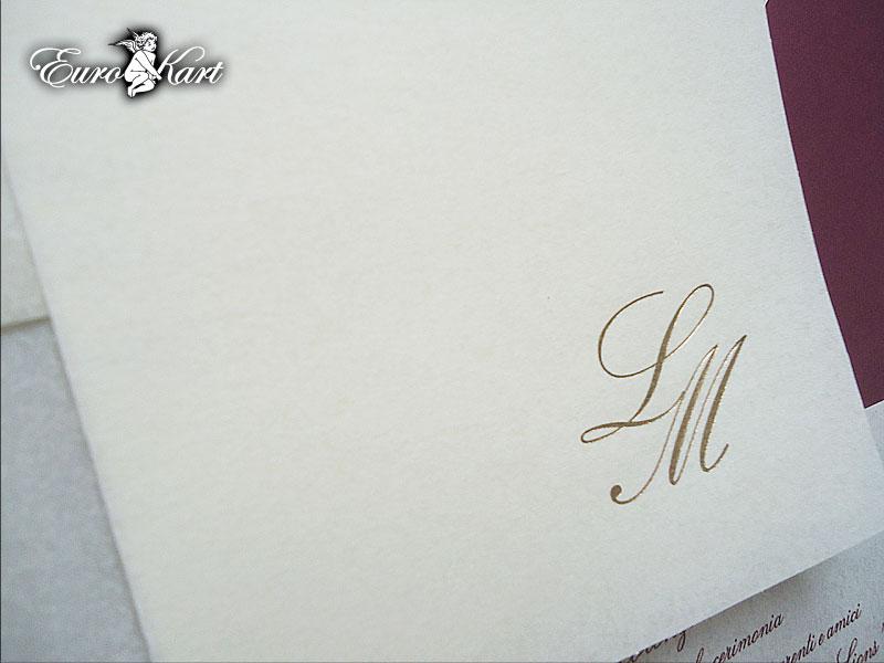 partecipazioni di nozze E45544