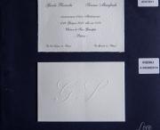 partecipazione di matrimonio 0017/Semplice