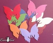 Farfalle Segnaposto Colorate
