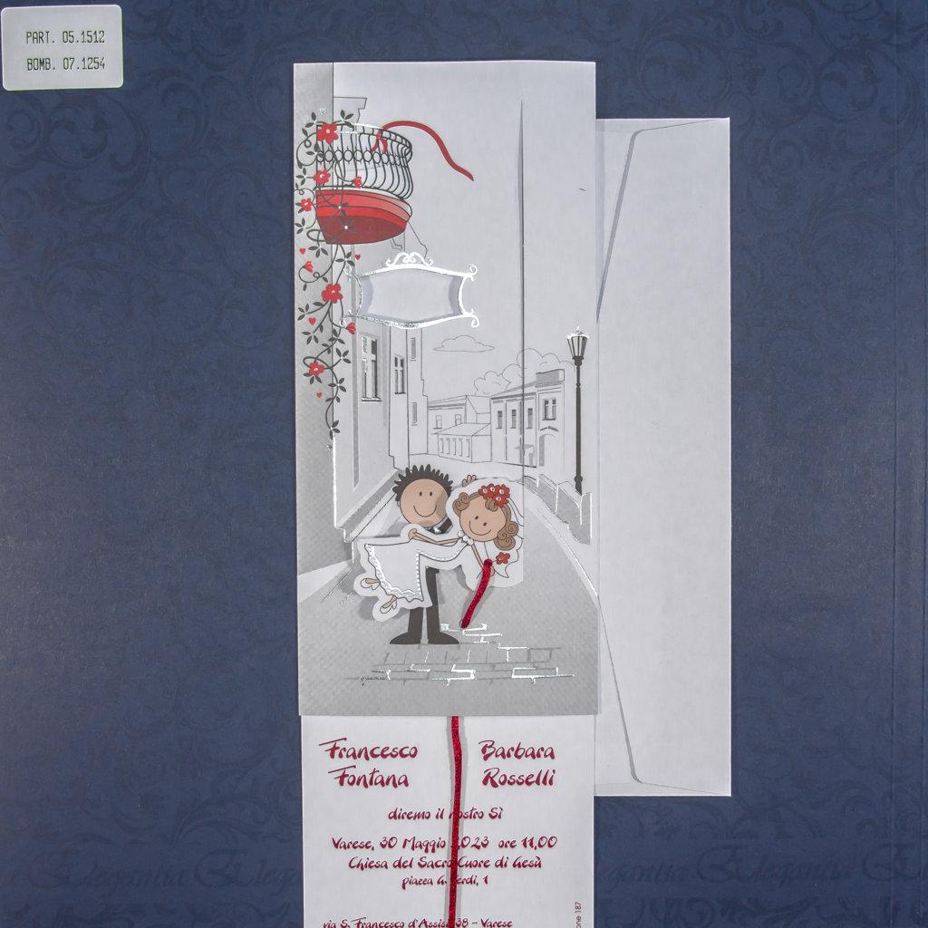 partecipazione di matrimonio 05-1512